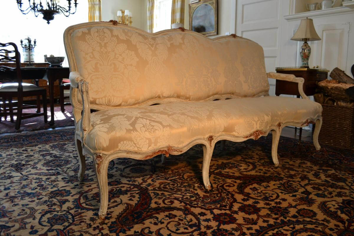 French Provincial Sofa, 18th or Early 19th Century