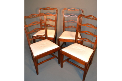 Four Philadelphia chairs, circa 1785-1800