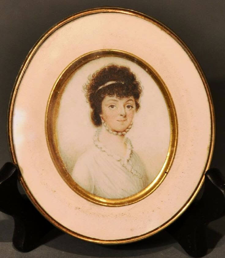 Portrait Miniature of the Early 1800s