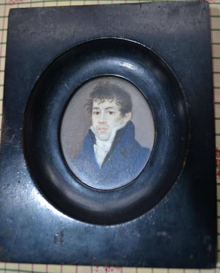 Portrait Miniature, early 1800s