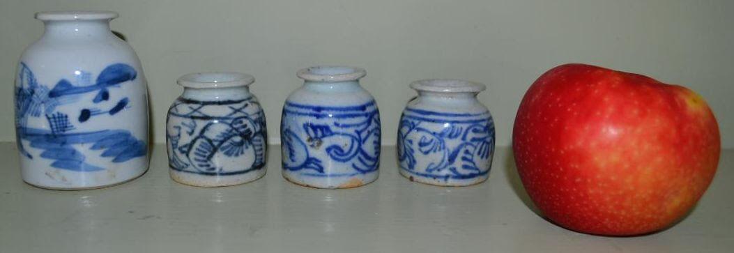 Canton Type Ink Bottles