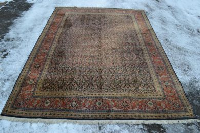 Late 20th Century Large Sarouk carpet