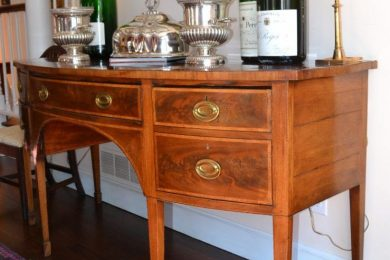 English Hepplewhite sideboards