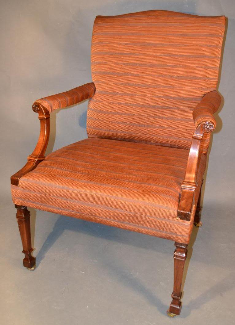 George III easy chair