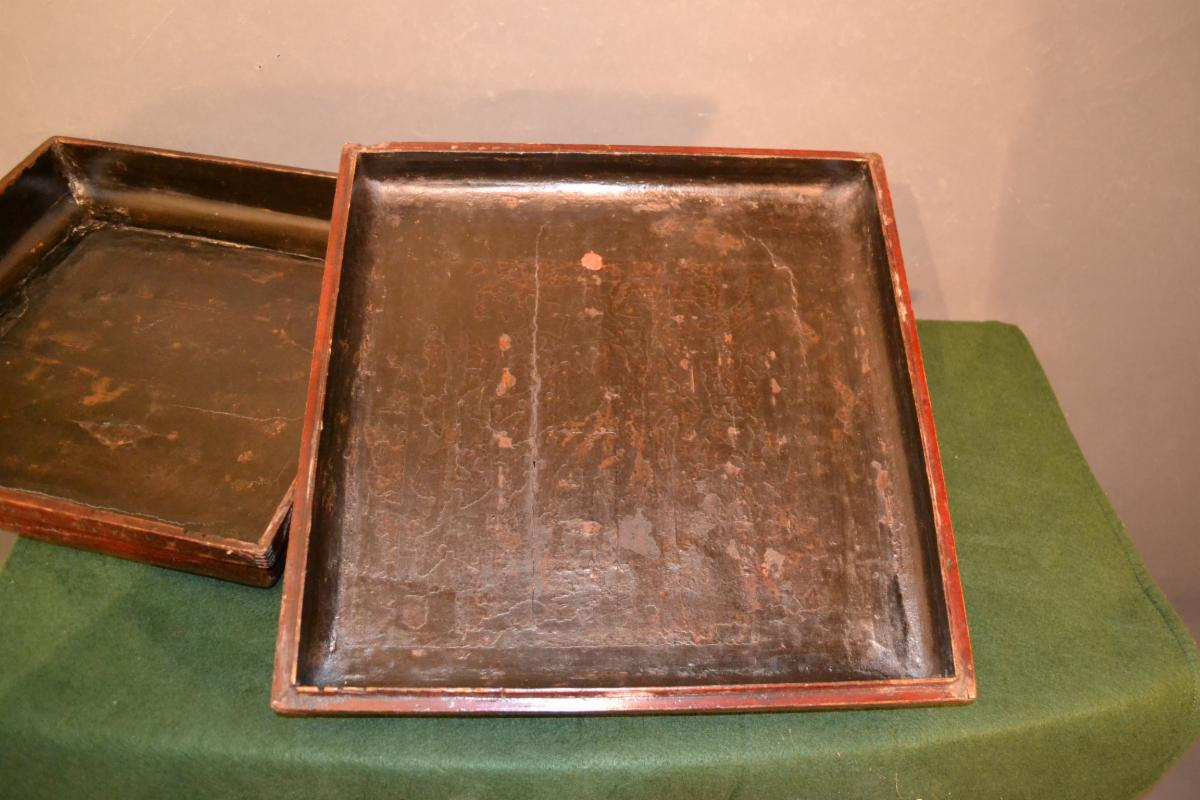 chinoiserie box lid