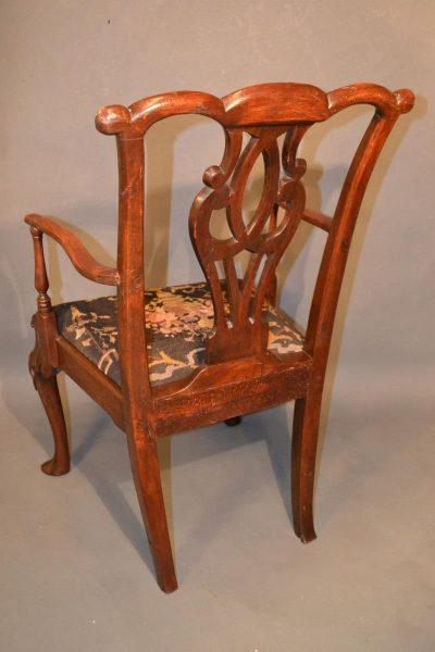 English armchair back