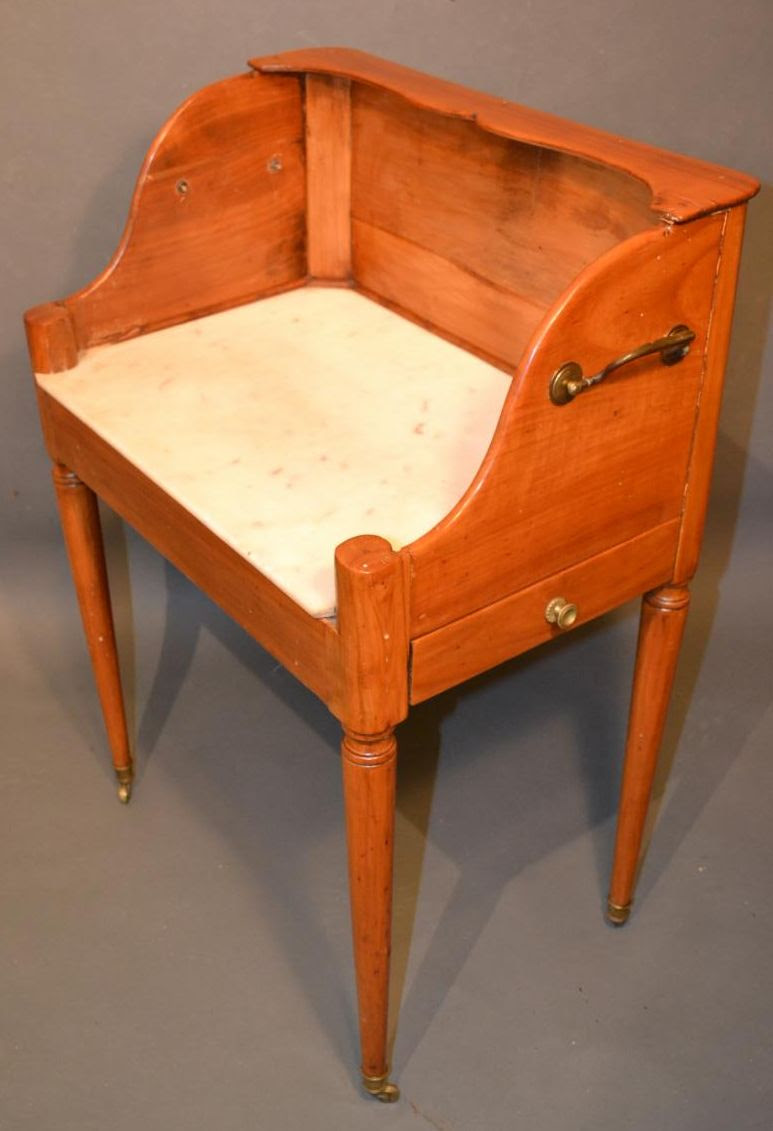 French directoire washstand other side
