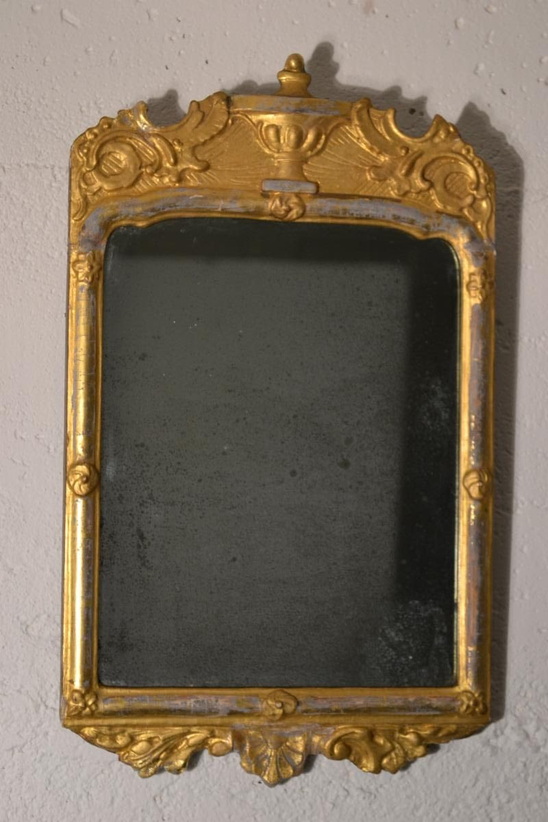French Neoclassical Looking Glass, from the 1700s,
