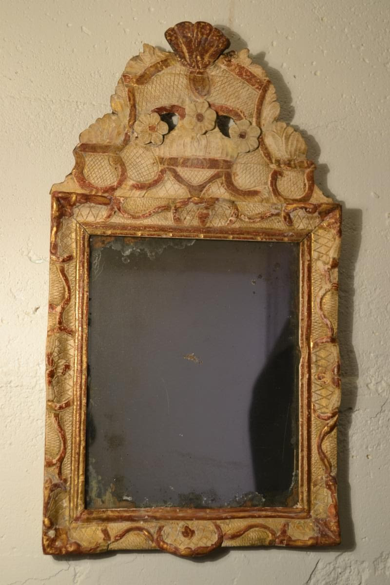 French Regence' Looking Glass, circa 1720s+