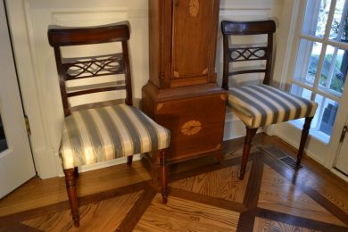 George III period side chairs