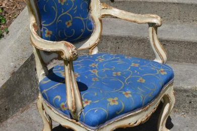 18th century Italian rococo armchair