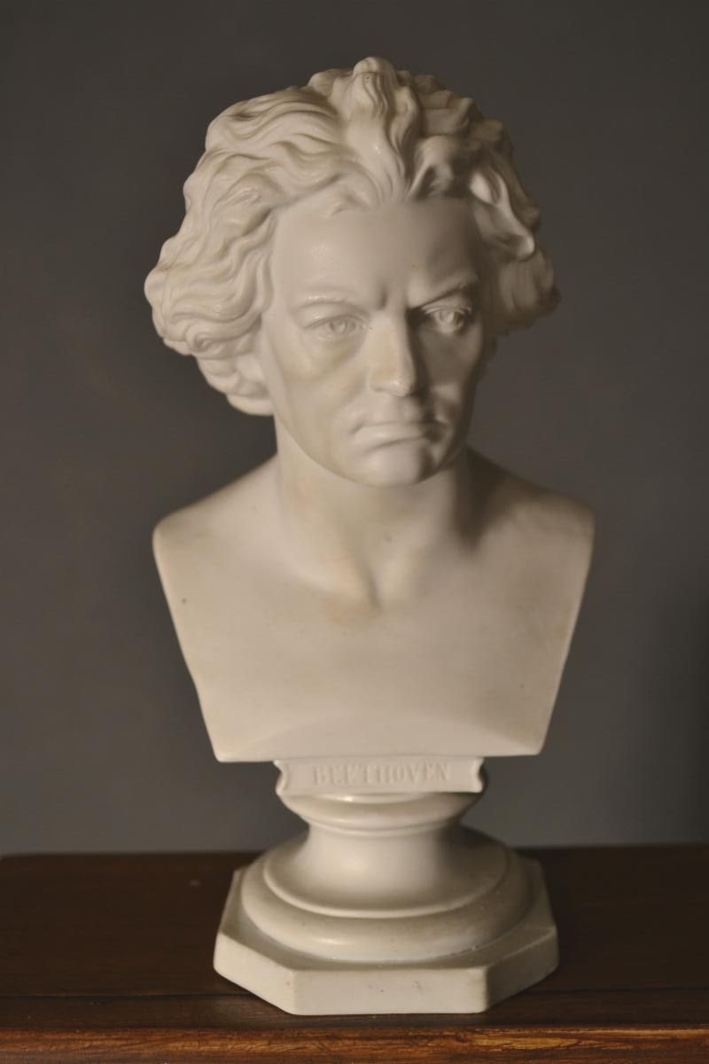 19th Century Beethoven Bust