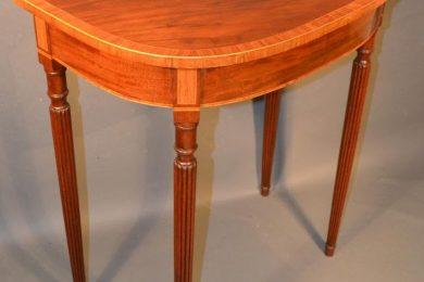 English George III console table, circa 1790-1810
