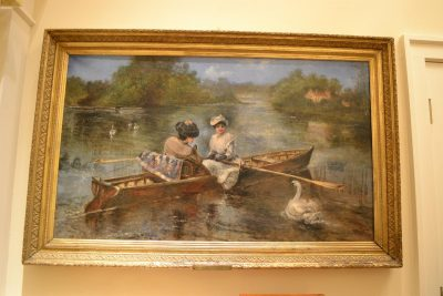 French Oil on canvas