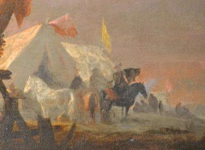 oil on canvas horse