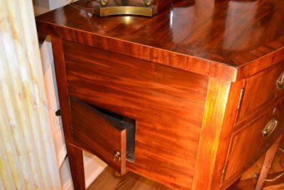 English hepplewhite mahogany sideboard side
