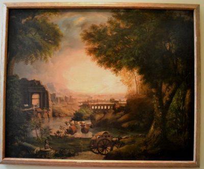 Italian countryside painting