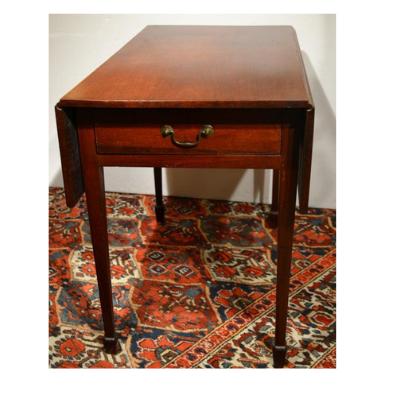 American Hepplewhite mahogany Pembroke table