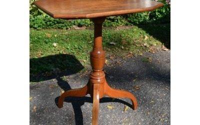 American Tilt Top Candlestand, Circa 1810-20s