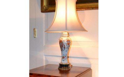French Samson Garniture vase